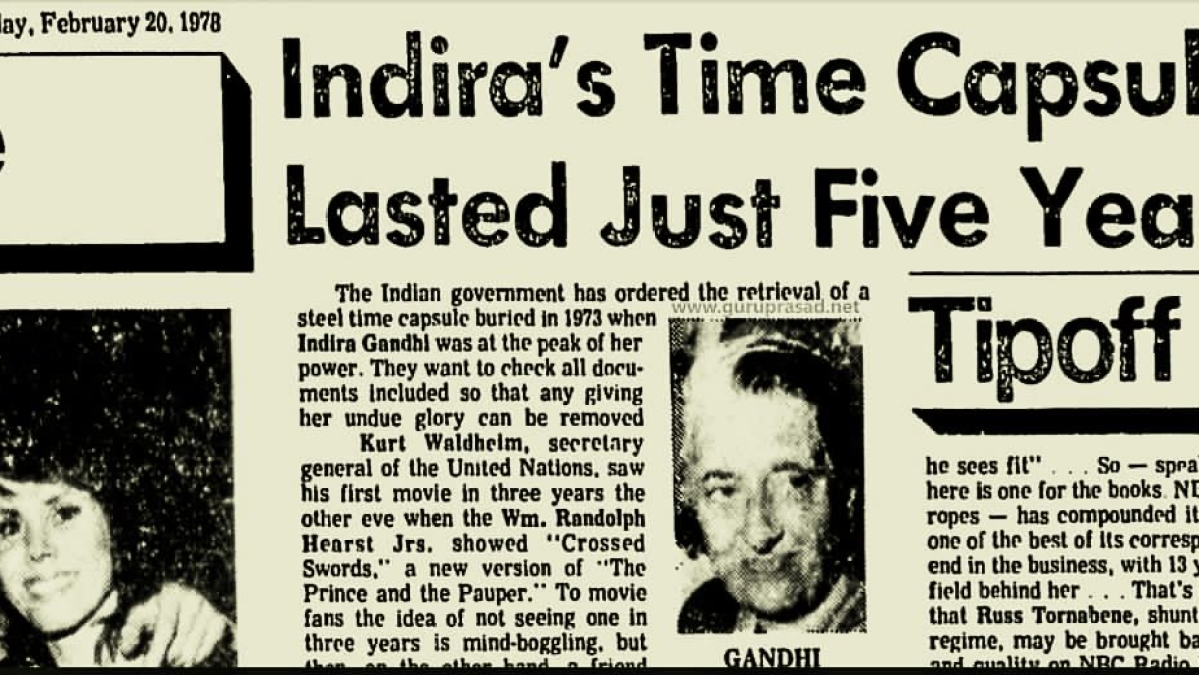Introduction to The Theory and Practice of Marxist History Writing in India: Indira Gandhi's Forgotten Time Capsule