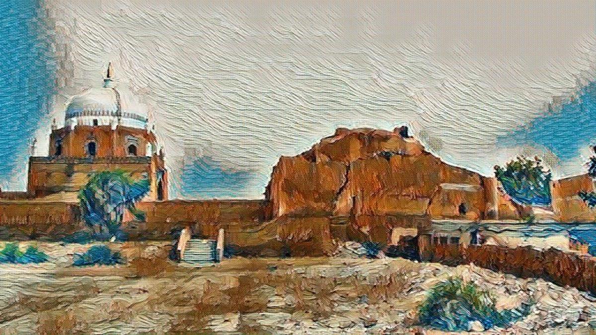 Ruins of the Aditya Temple at Multan