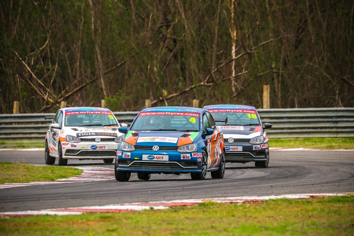 Saurav Bandyopadhyay reigns supreme in the Ameo Class race two