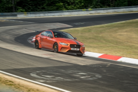 Jaguar XE SV Project 8 returns to the Nordschleife to break its own record