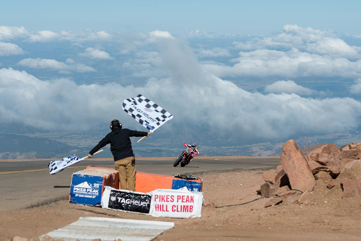 Pikes Peak to exclude bikes for the near future