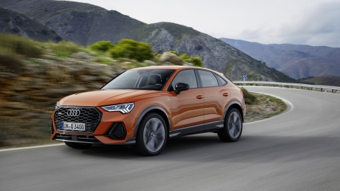 Audi Q3 Sportback revealed – a game of SUV inception