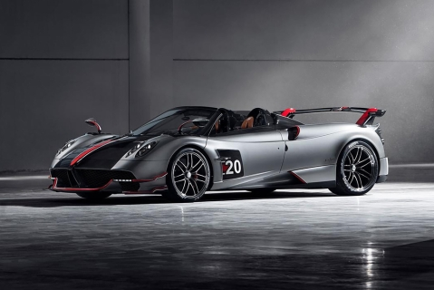Pagani unveils the Rs 23 crore Huayra BC Roadster