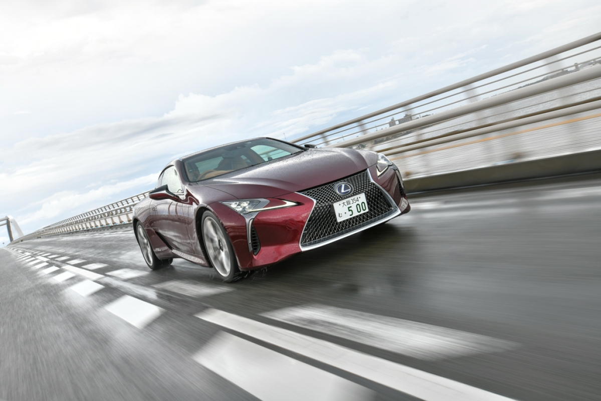 The wildly styled and incredibly complicated Lexus LC500h is the star of our driving week | First test drive review