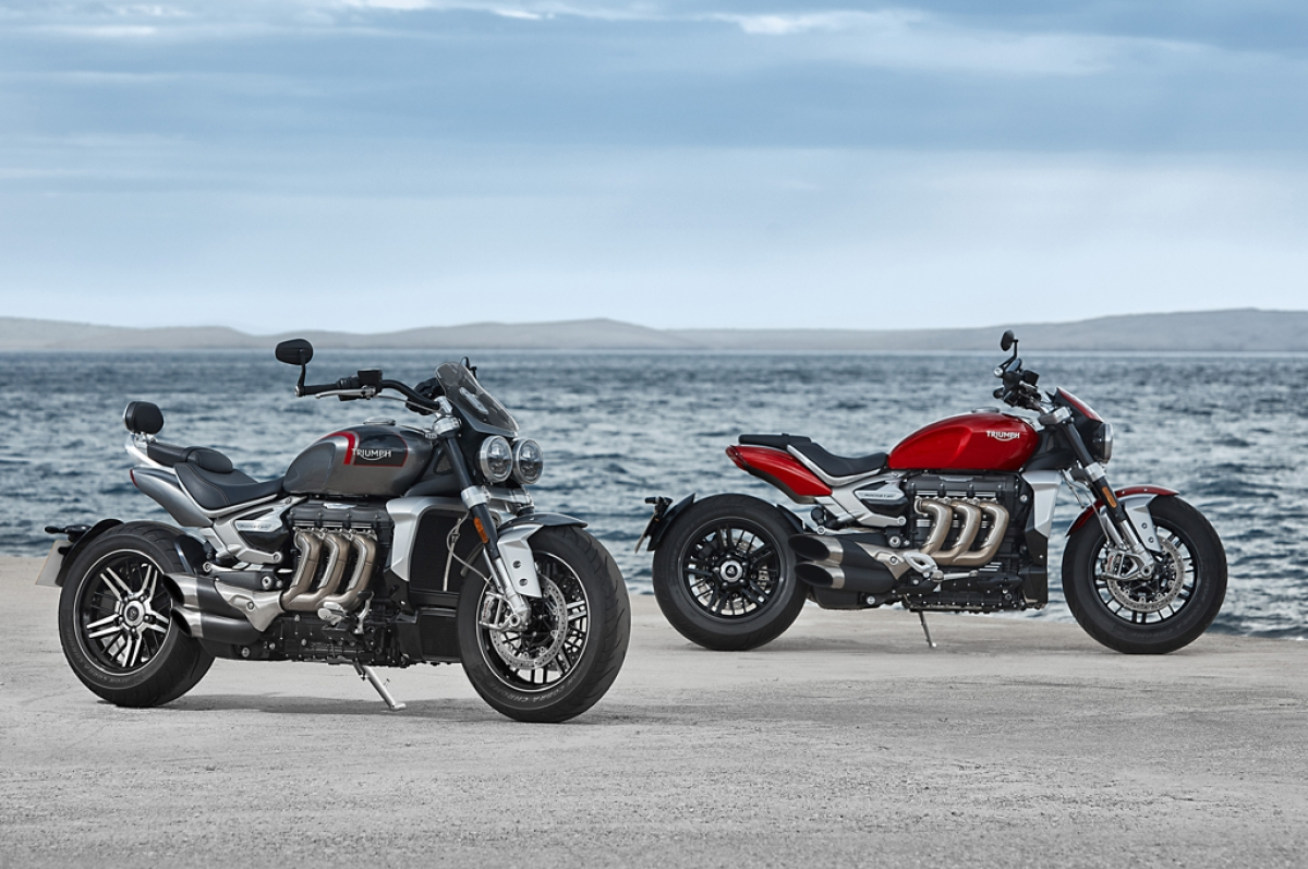 Triumph unveils the 2019 Rocket 3