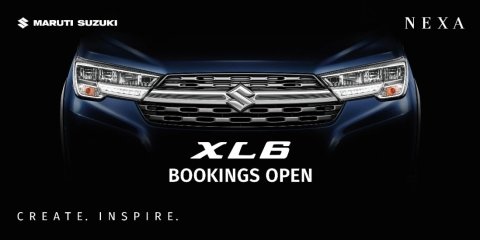 Maruti Suzuki has opened bookings for the XL6 premium MPV