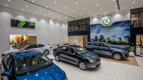 Skoda refreshes entire dealer and service network