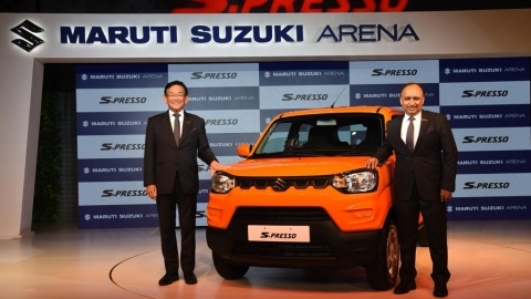 Maruti Suzuki S-PRESSO launched at Rs 3.69 lakh