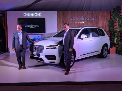 Volvo launches the XC90 Excellence Lounge Console at Rs. 1.42 crore