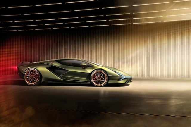 Hybrid Lamborghini Sian revealed – and it's the most powerful Lambo yet