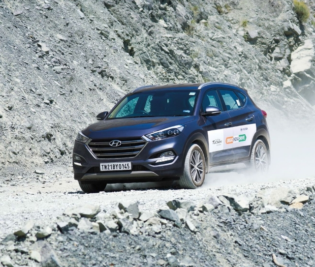 Hyundai Tucson Great India Drive Part 2: The earth is flat