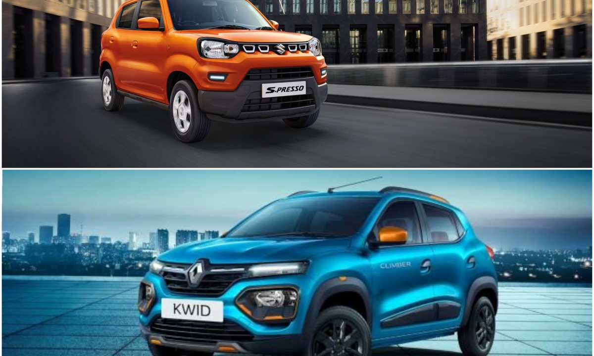 Renault Kwid facelift vs Maruti Suzuki S-PRESSO