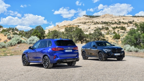 Third generation of BMW X5 M and X6 M revealed