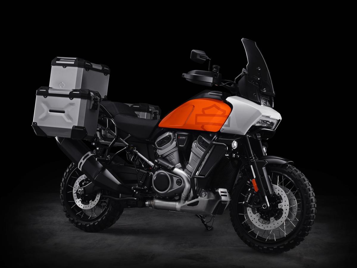 Harley-Davidson displays Bronx 975 and Pan America 1250 at EICMA 2019