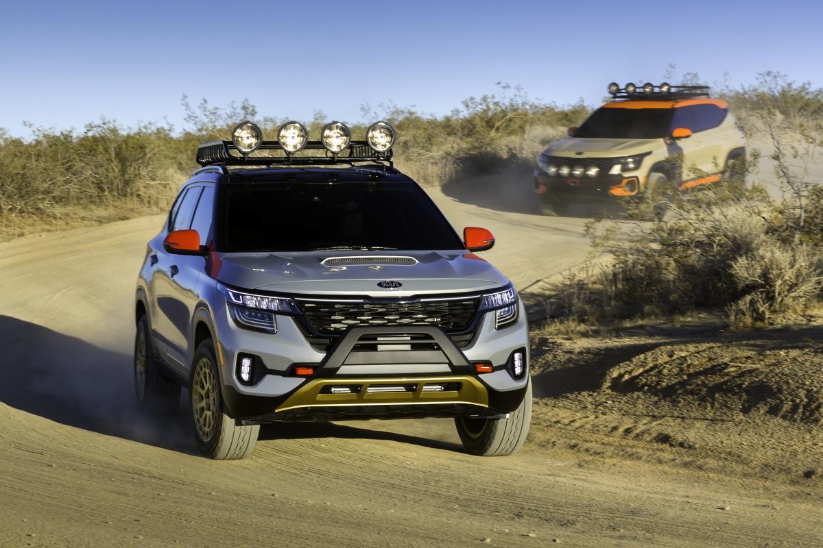 KIA showcase Seltos X-Line concepts at 2019 LA Auto Show