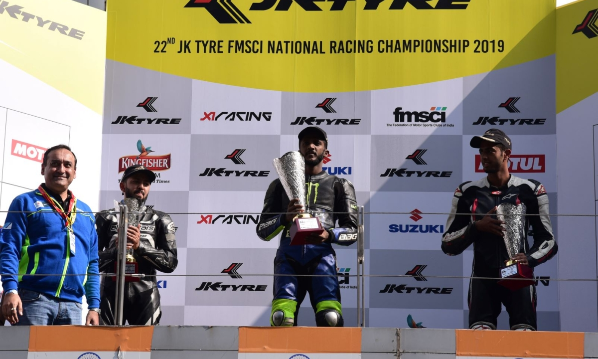 Vishnu, Muzammil win big at JK Tyre Festival of Speed 2019