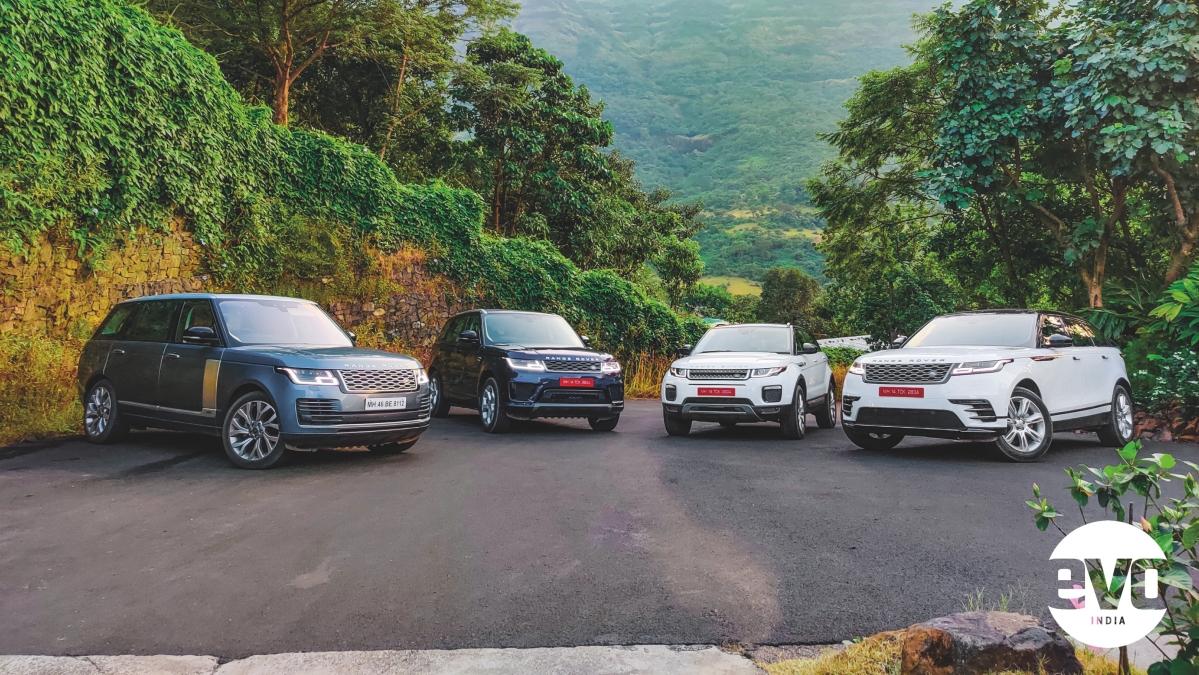 4 Range Rovers