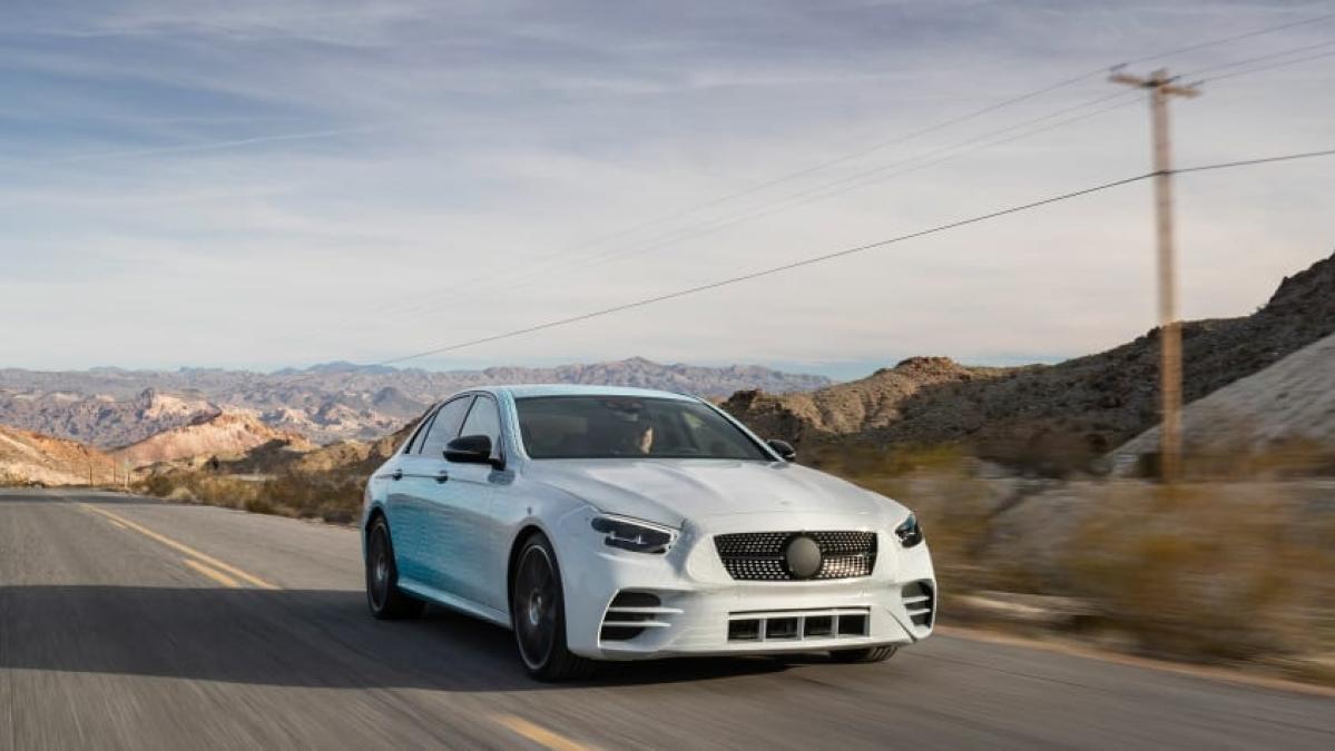 Mercedes-Benz teases facelifted E-Class