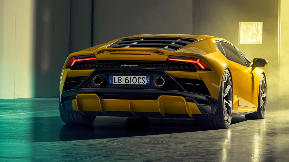 Lamborghini Huracan Evo Rear-Wheel Drive aimed at the enthusiast