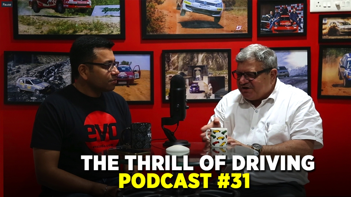 Triumph and Bajaj alliance in Thrill of Driving podcast with Sirish and Adil