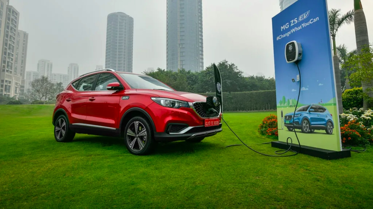 MG Motors launches ZS EV at Rs 20.88 lakh
