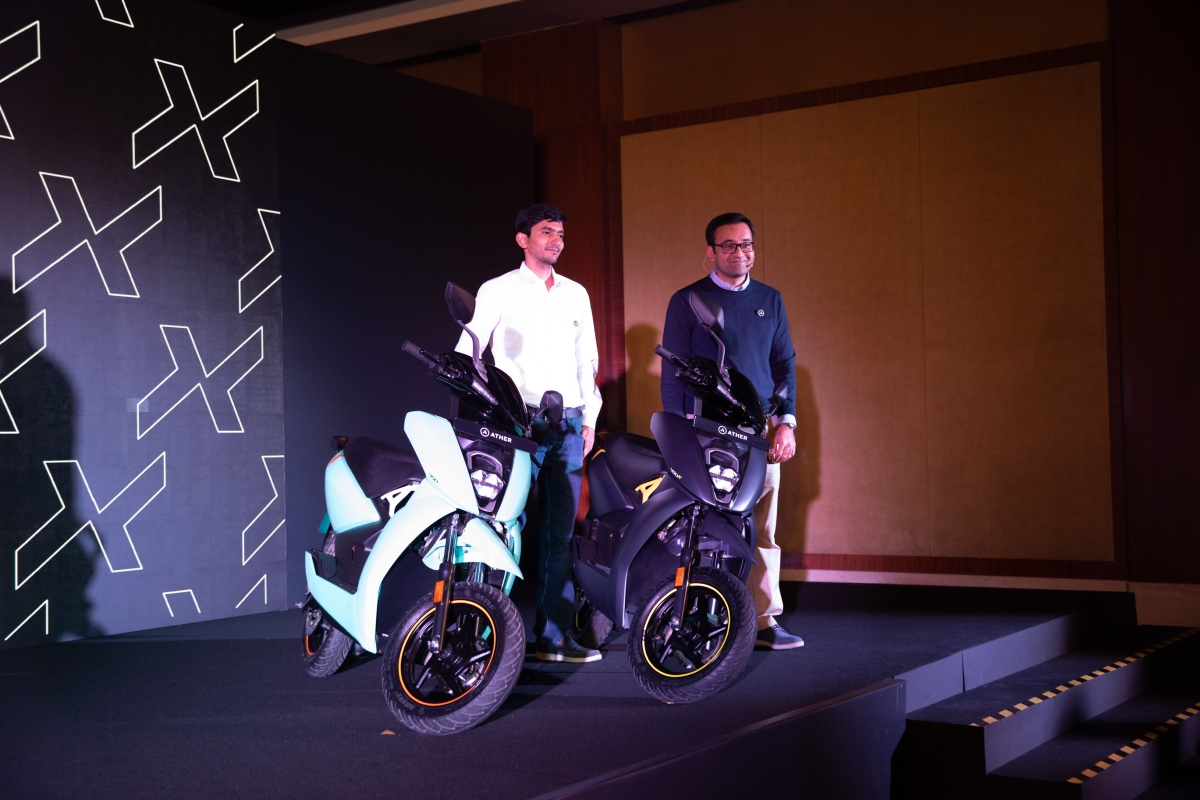 Ather Energy launches the 450X in India