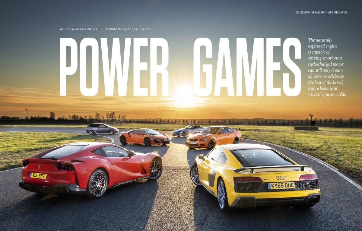 The best engines in the world headline the February 2020 issue of evo India