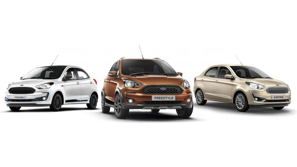 BS6 Ford Figo, Aspire and Freestyle launched