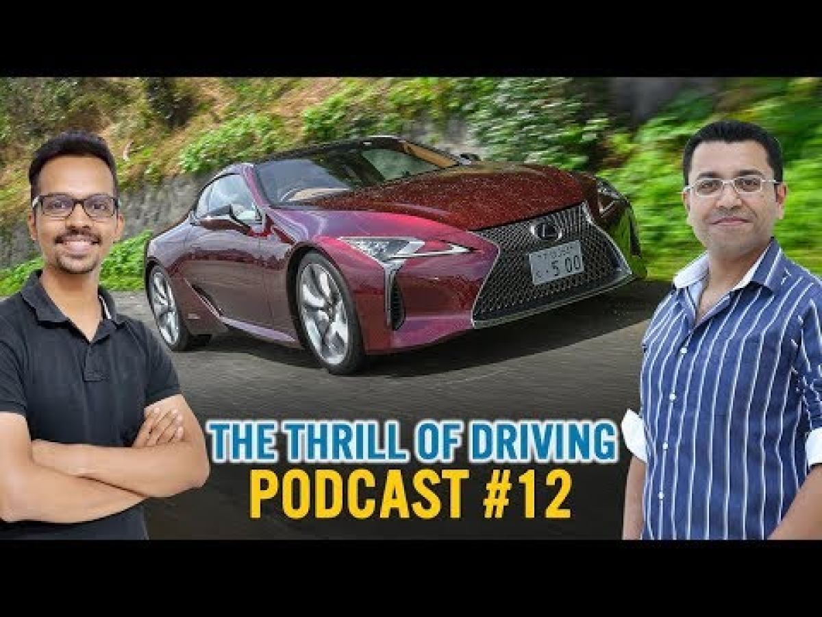 Driving the Lexus LC 500h luxury coupe in Japan | The Thrill of Driving podcast #12