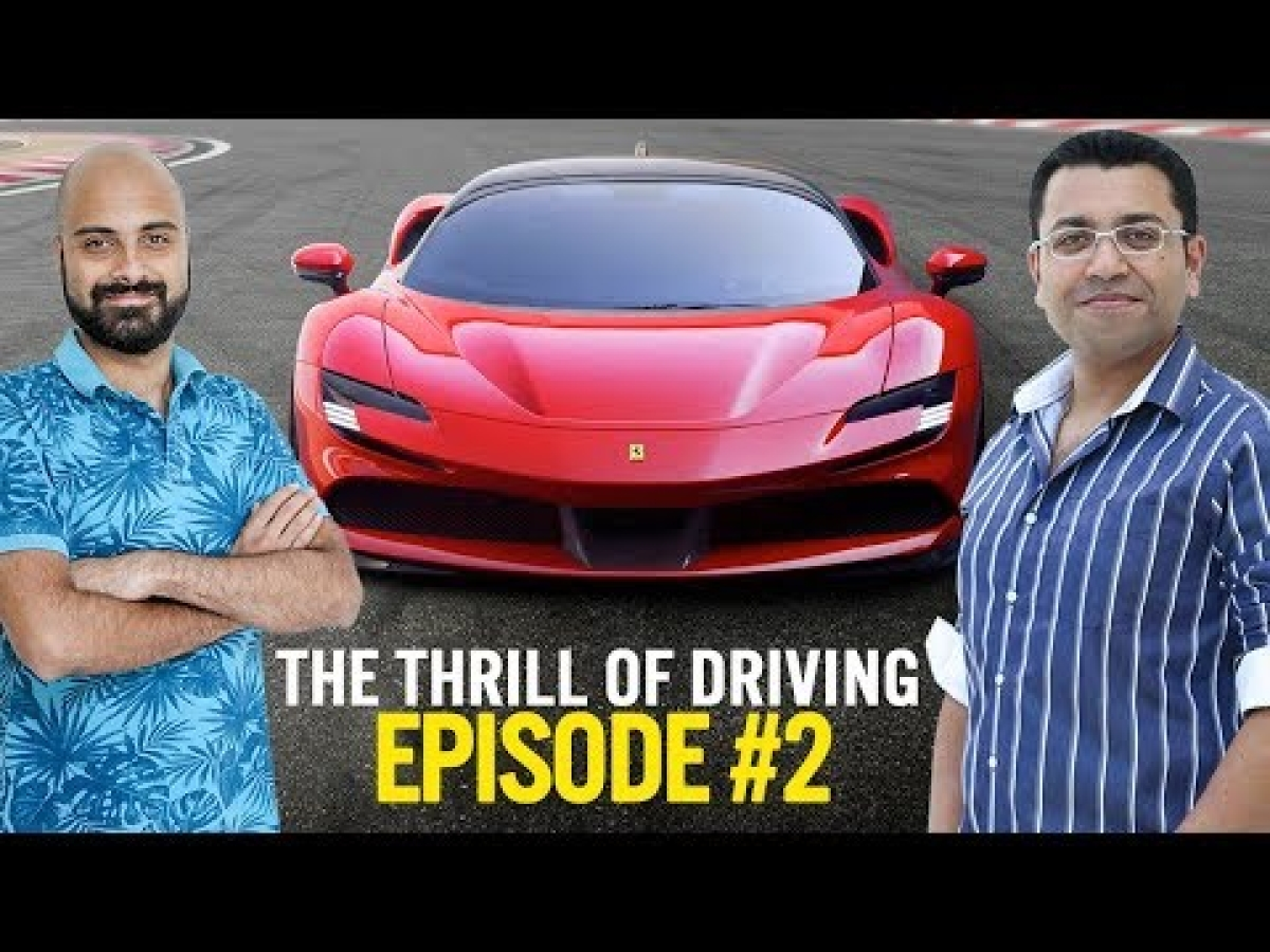 What's the fuss around the Ferrari SF90 Stradale? The Thrill of Driving Podcast #2