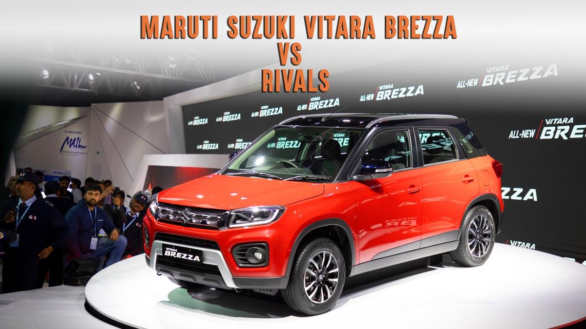 Maruti Suzuki Vitara Brezza v rivals: Sub-four metre compact SUV specs comparison