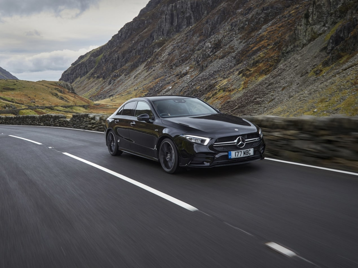 Mercedes-AMG A35 Saloon 2020 review