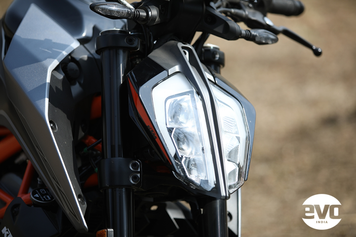 No changes to the headlamp