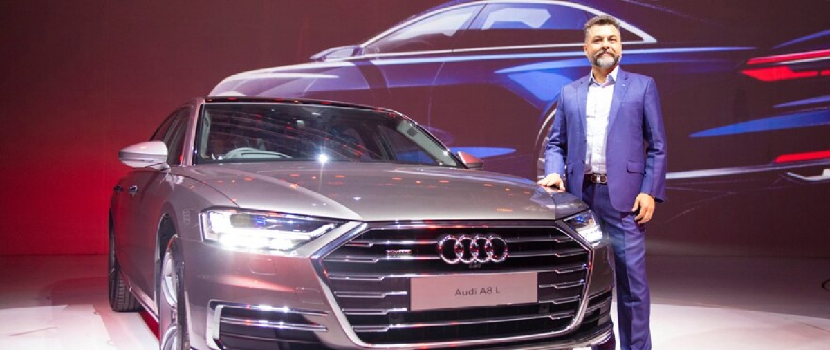 Audi launches the A8 L in India at Rs 1.56 crore