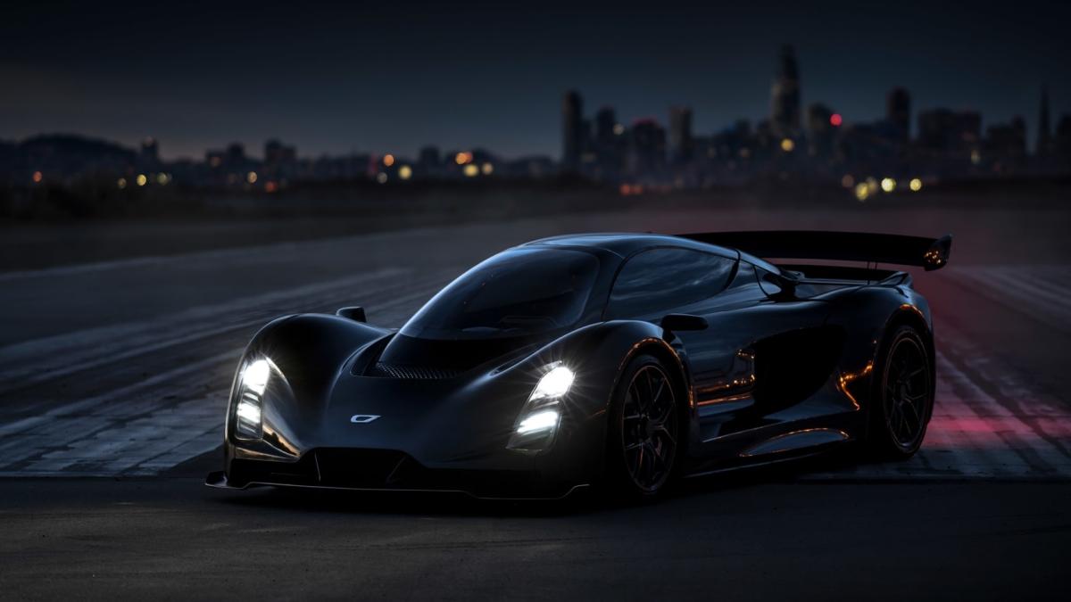 1233bhp Czinger 21C supercar teased before Geneva motor show debut