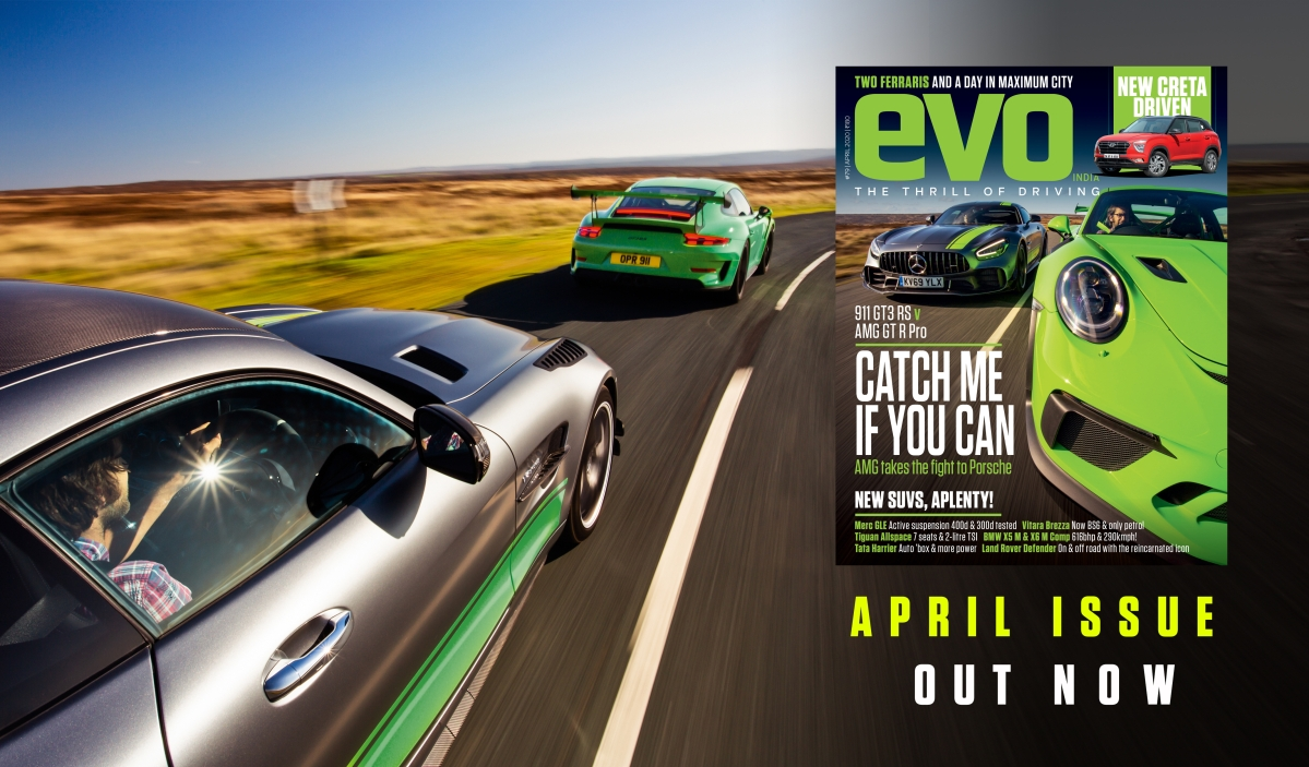 Porsche 911 GT3 RS and Mercedes-AMG GT R Pro headlines April 2020 issue of evo