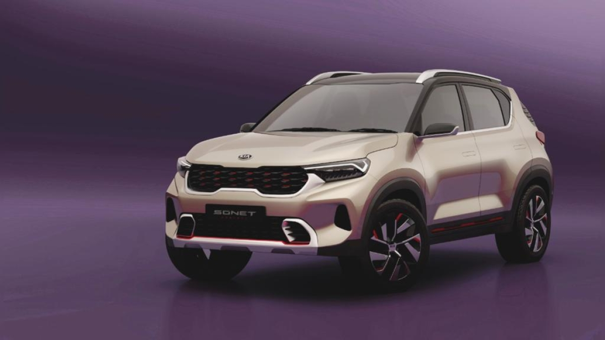 Kia Sonet set to launch in India by August 2020