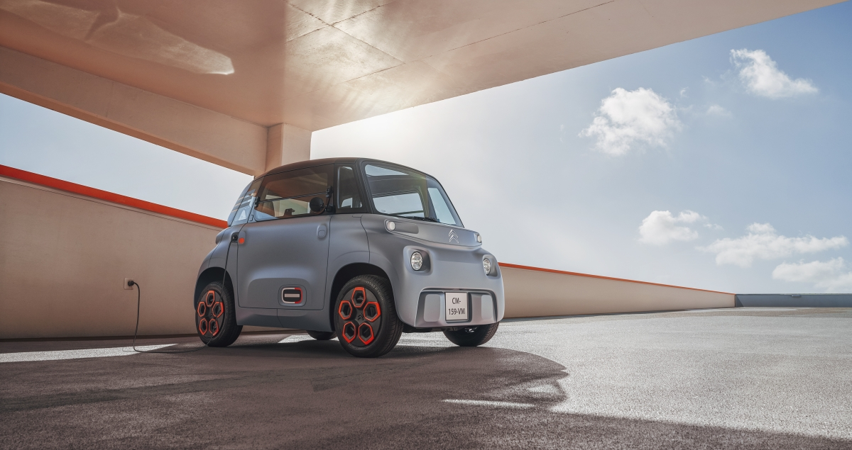 Citroen unveils small electric urban mobility solution, Ami