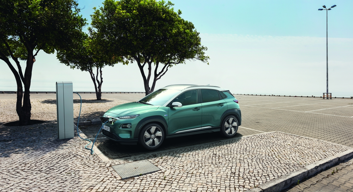 All new Hyundai Kona electric