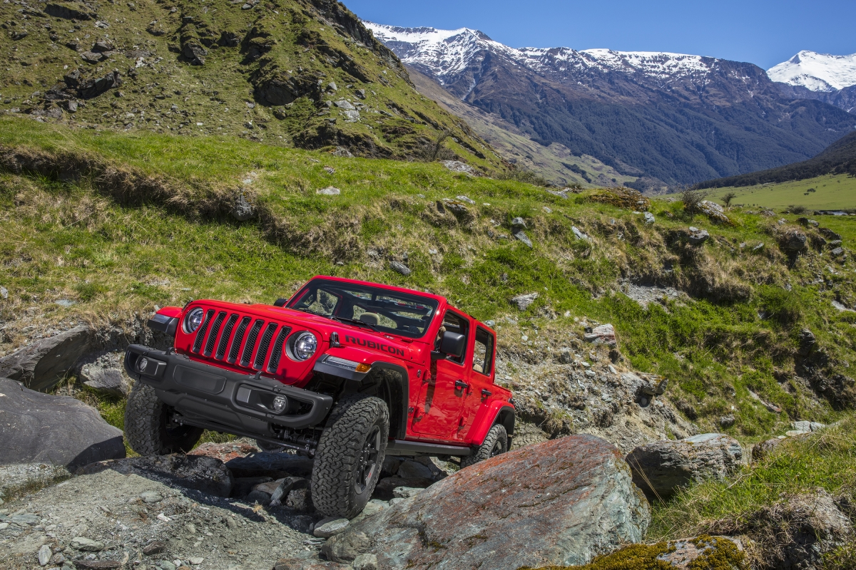 Jeep Wrangler Rubicon launched at Rs 68.94 lakh
