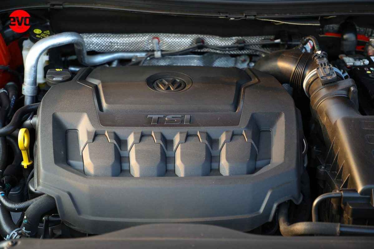 The 2-litre TSI engine and it puts out 187.7 bhp and 320Nm of torque.