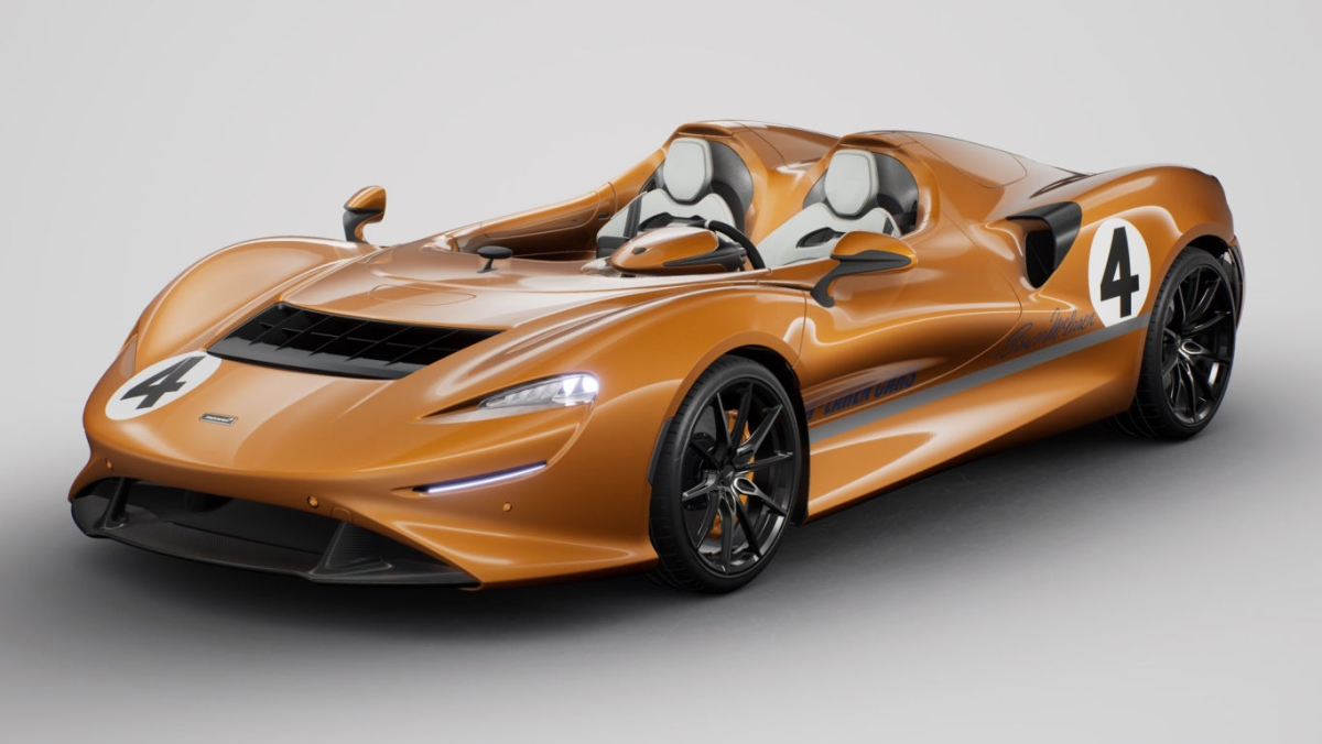 McLaren MSO Elva Livery pay tribute to the past