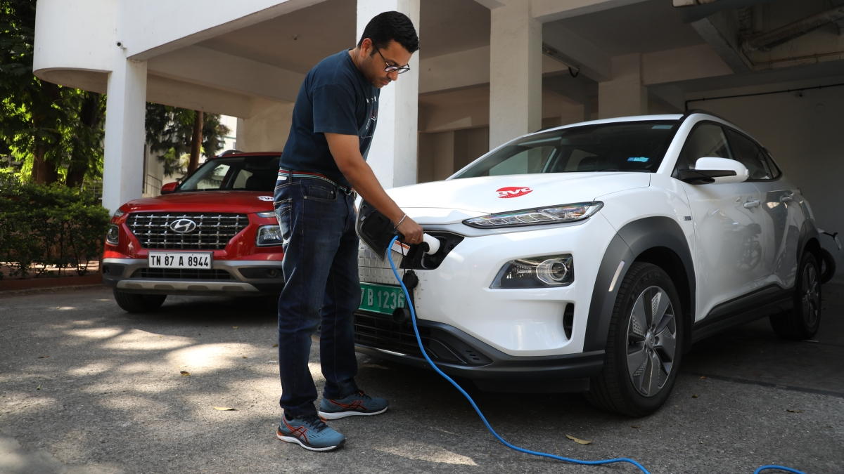 The Hyundai Kona Electric is the newest and greenest entrant to evo India's long term fleet