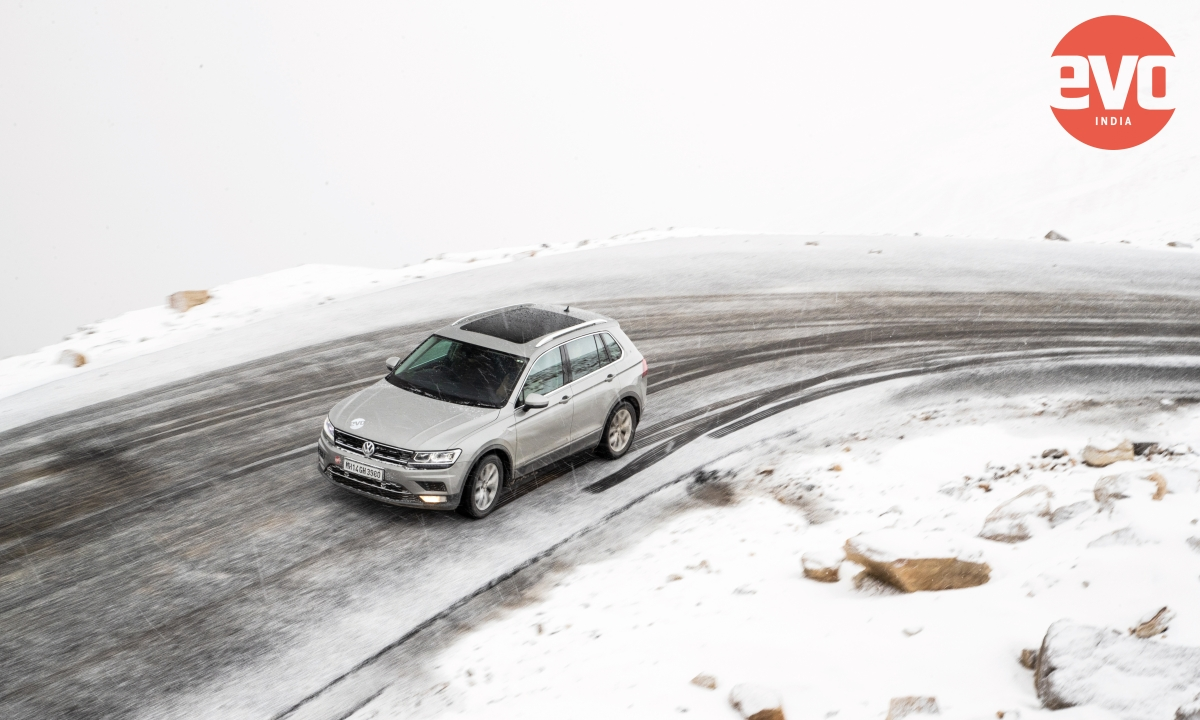 Volkswagen Tiguan doing the impossible