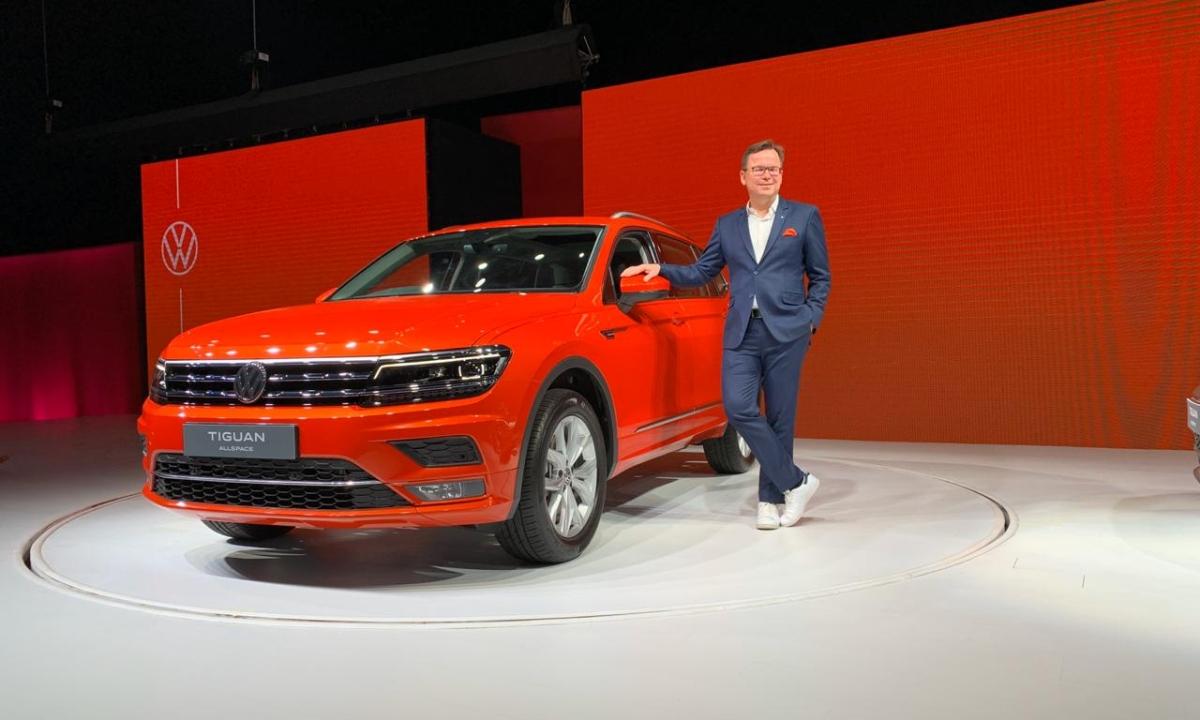 Volkswagen Tiguan Allspace launched at Rs 33.12 lakh | Rivals Skoda Kodiaq and Honda CR-V