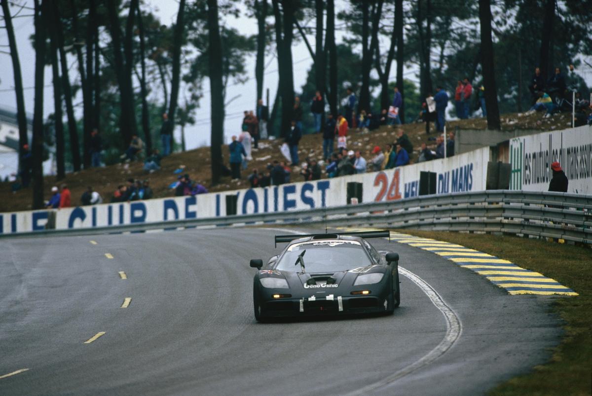 McLaren F1 GTR at Le Mans 1995