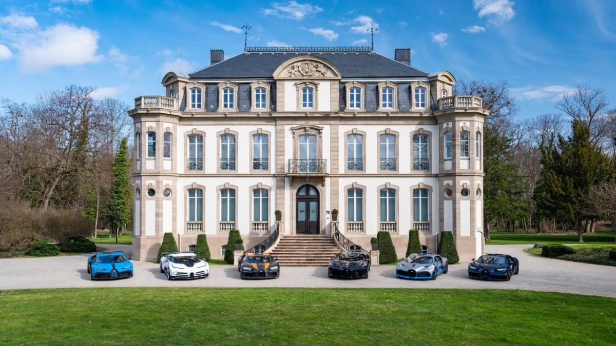 Bugatti's complete Hypercar lineup