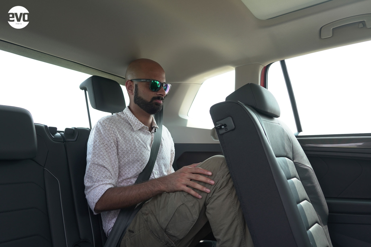 """My 5'10"""" frame could fit  in the third row with my knees not touching the second row."""
