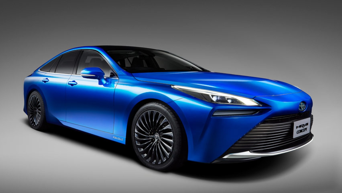 Here's how the next generation Toyota Mirai FCEV will look like