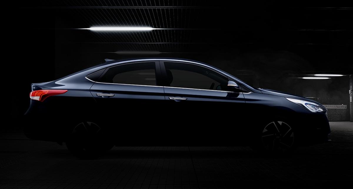 Hyundai teases the facelifted Verna